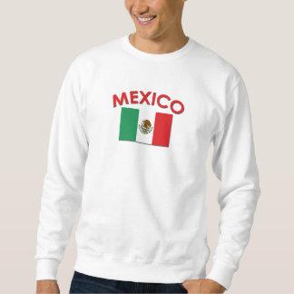 Bandera mexicana (roja) sudaderas encapuchadas
