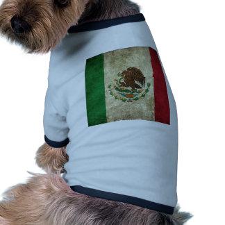 Bandera mexicana prenda mascota
