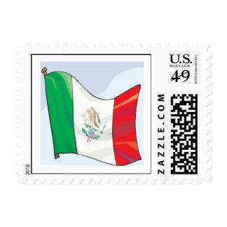 Bandera mexicana sello