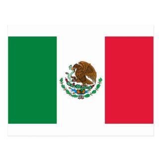 Bandera mexicana postales