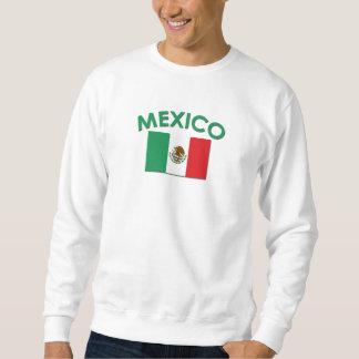 Bandera mexicana (verde) sudaderas encapuchadas