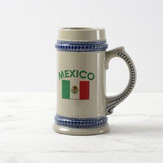 Bandera mexicana (verde) taza