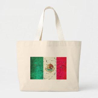 Bandera México Bolsa Tela Grande