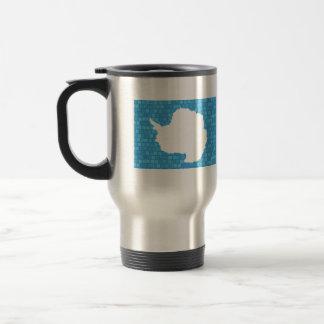 Bandera moderna de Antartican del modelo Taza De Café