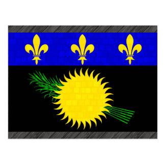 Bandera moderna de Guadeloupean del modelo Postales