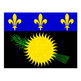 Bandera moderna de Guadeloupean del modelo Postal