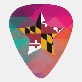 Bandera moderna de Maryland Plectro