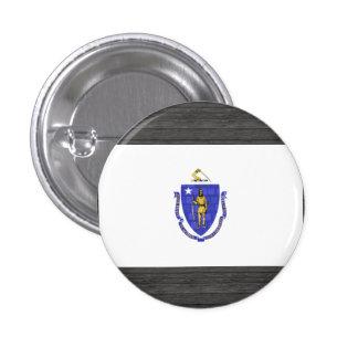 Bandera moderna de Massachusettsan del modelo Pins