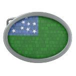 Bandera moderna de Vermont del modelo Hebilla Cinturon