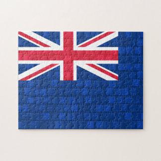 Bandera moderna del Anguillan del modelo Puzzles