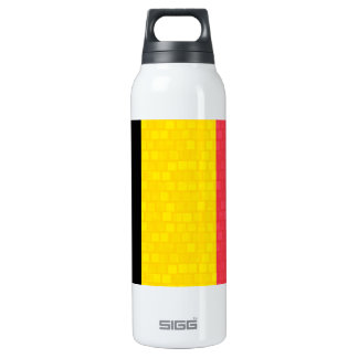 Bandera moderna del belga del modelo botella isotérmica de agua