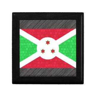 Bandera moderna del Burundian del modelo Caja De Joyas