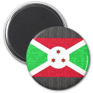 Bandera moderna del Burundian del modelo Imanes Para Frigoríficos