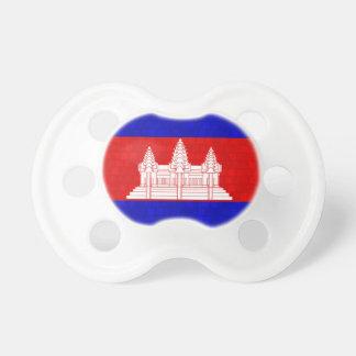 Bandera moderna del camboyano del modelo chupetes de bebé
