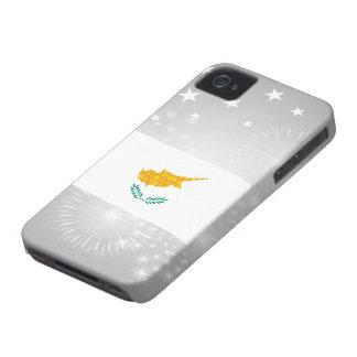 Bandera moderna del chipriota del modelo iPhone 4 protector