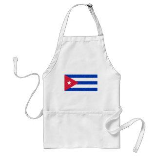 Bandera moderna del cubano del modelo delantales