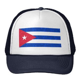 Bandera moderna del cubano del modelo gorras de camionero