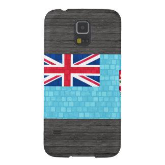 Bandera moderna del Fijian del modelo Fundas Para Galaxy S5