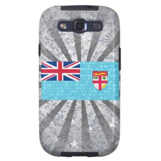 Bandera moderna del Fijian del modelo Galaxy S3 Protectores