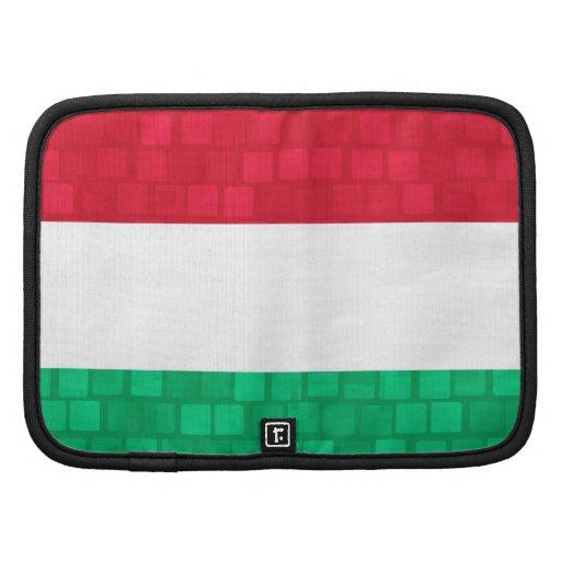 Bandera moderna del húngaro del modelo planificador