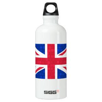 Bandera moderna del inglés del modelo