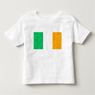 Bandera moderna del irlandés del modelo tee shirt