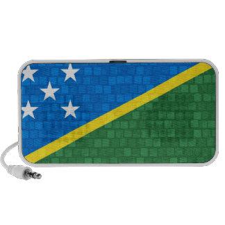 Bandera moderna del isleño de Solomon del modelo Laptop Altavoces