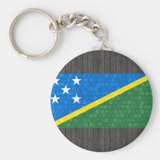 Bandera moderna del isleño de Solomon del modelo Llavero