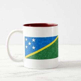 Bandera moderna del isleño de Solomon del modelo Taza De Café
