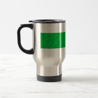 Bandera moderna del libio del modelo tazas de café