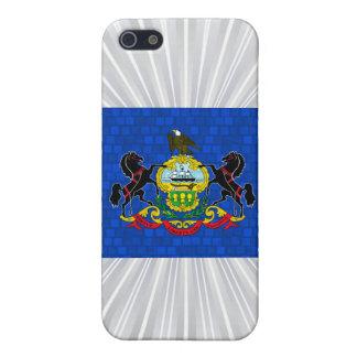 Bandera moderna del Pennsylvanian de Pern iPhone 5 Cárcasa