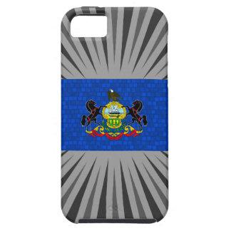 Bandera moderna del Pennsylvanian del modelo iPhone 5 Case-Mate Funda