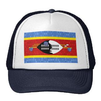 Bandera moderna del Swazi del modelo Gorro De Camionero