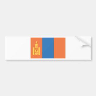 Bandera mongol pegatina para auto