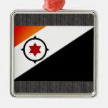 Bandera monocromática de Bonaire Adorno