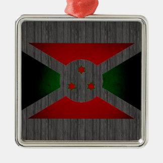 Bandera monocromática de Burundi Adornos