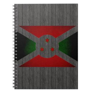 Bandera monocromática de Burundi Cuadernos