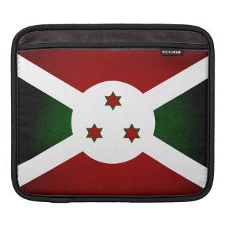 Bandera monocromática de Burundi Funda Para iPads