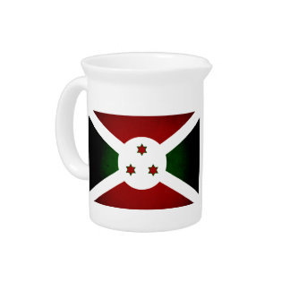 Bandera monocromática de Burundi Jarras De Beber