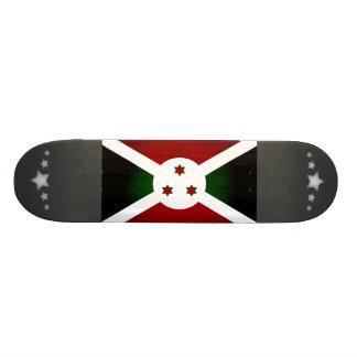 Bandera monocromática de Burundi Monopatín