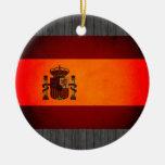 Bandera monocromática de España Adorno