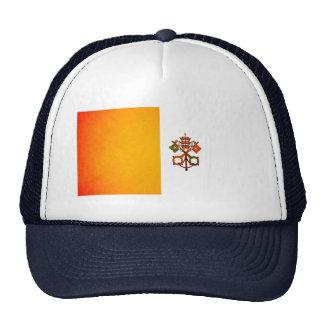 Bandera monocromática de la Ciudad del Vaticano Gorras