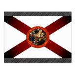 Bandera monocromática de la Florida Postales