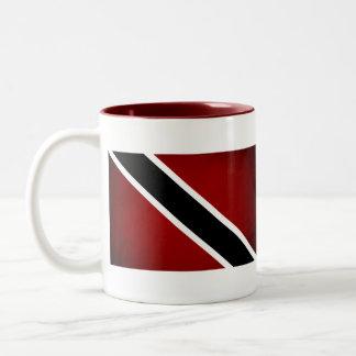 Bandera monocromática de Trinidad and Tobago Tazas De Café