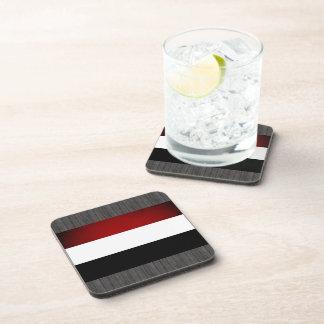 Bandera monocromática de Yemen Posavasos De Bebida