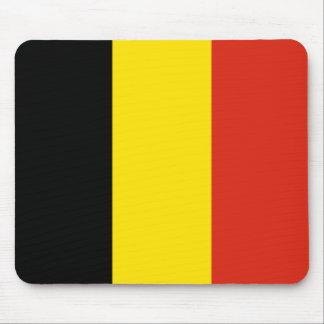 Bandera Mousepad de Bélgica Alfombrilla De Ratones