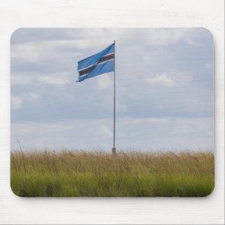 Bandera Mousepad de Botswana