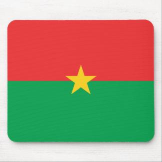 Bandera Mousepad de Burkina Faso Tapete De Raton