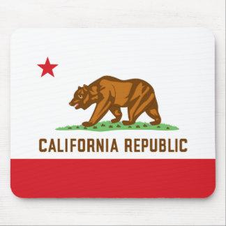 Bandera Mousepad de California Tapete De Ratón