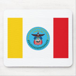 Bandera Mousepad de Columbus Ohio Alfombrillas De Ratón